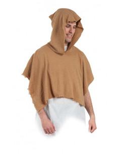 Capucha mendigo medieval adulto