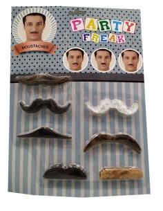Set bigotes surtidos