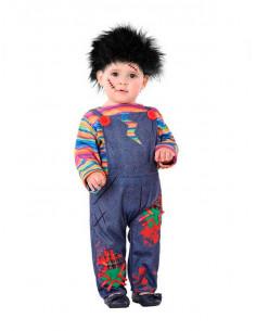 Disfraz Muñeco diabólico bebé
