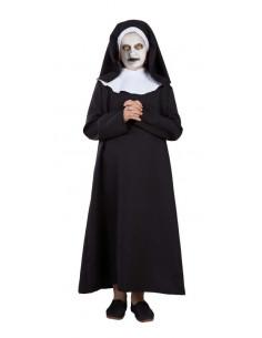 Disfraz monja zombie para niña