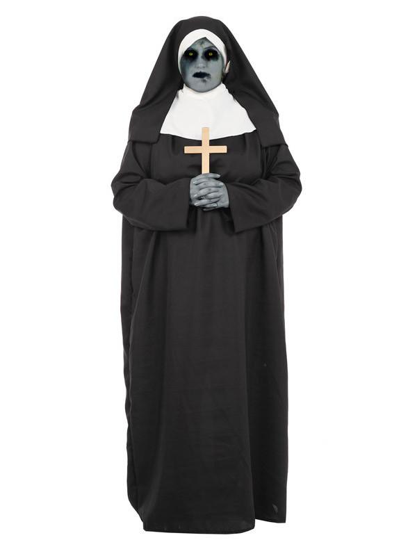 Disfraz de monja halloween adulto