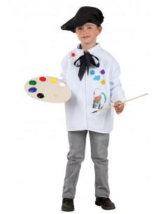 Disfraz de Pintor infantil  Tallas-10 años
