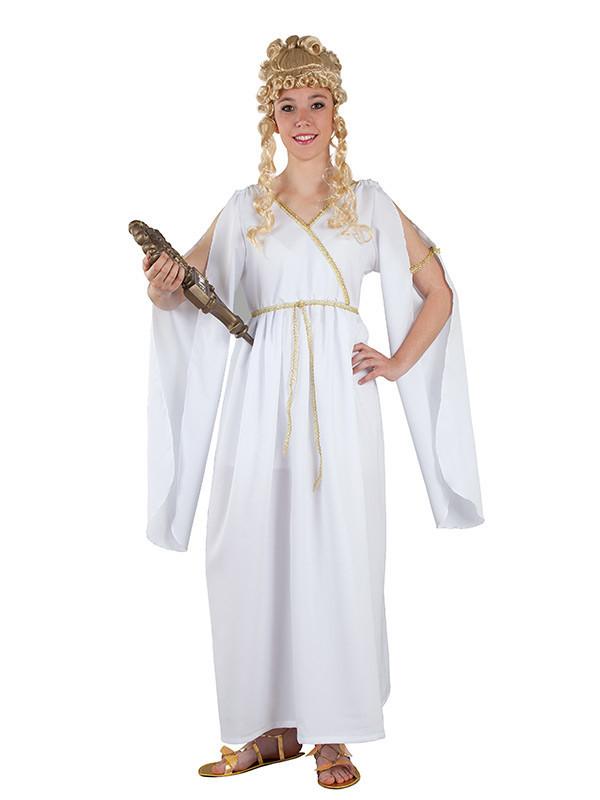Disfraz de romana adulto oro