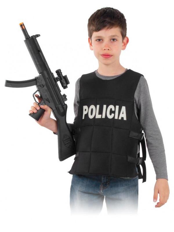 Chaleco anti-balas policía infantil