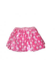 Falda Minnie infantil rosa