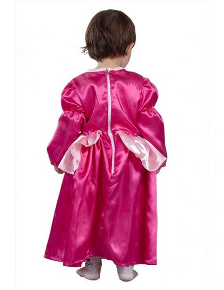 Disfraz princesa para bebé espalda