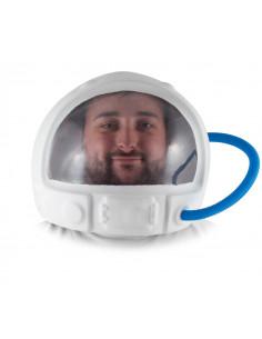 Casco de astronauta adulto
