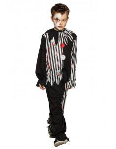 Disfraz payaso diabólico infantil
