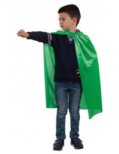 Capa Superhéroe verde