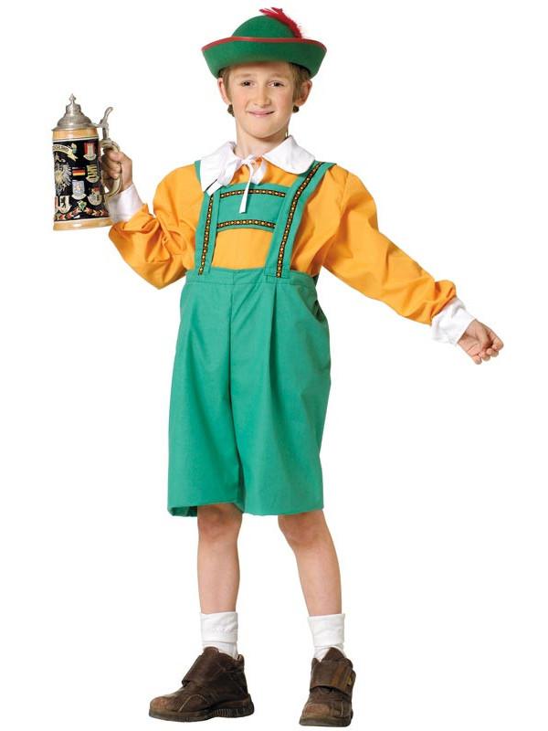 Disfraz tirolés infantil