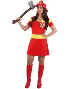 Disfraz bombera sexy mujer