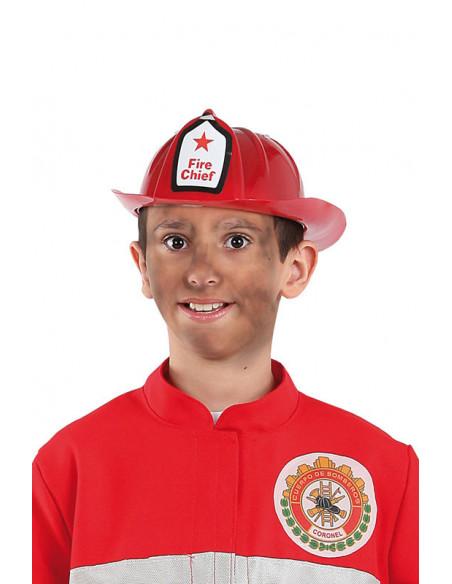 Gorro bombero infantil niño