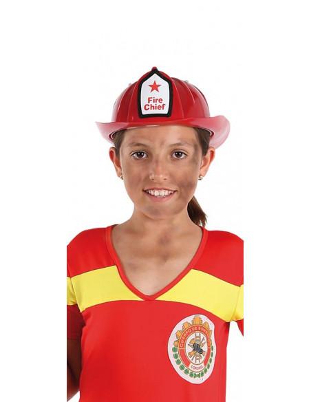 Gorro bombera infantil niña