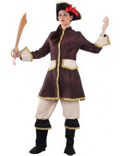 Disfraz Mosquetera  Modelo-Único Tallas-M
