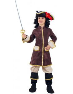 Disfraz de Mosquetera Real para niña  Modelo-Único Tallas-12 años