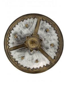 Escudo medieval envejecido
