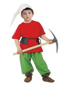 Disfraz enanito niño  Tallas-2 años