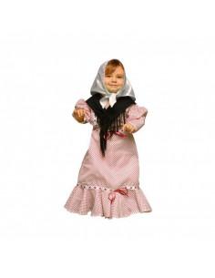 Disfraz de chulapa bebé