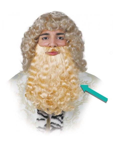 barba rey rubia