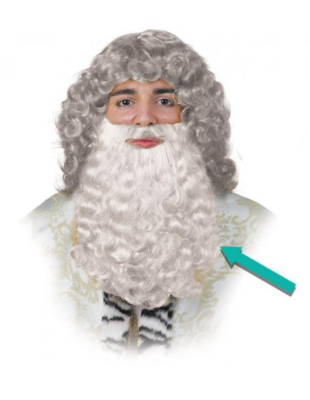 barba rey mago blanca