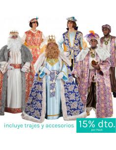 Pack Reyes Magos y pajes