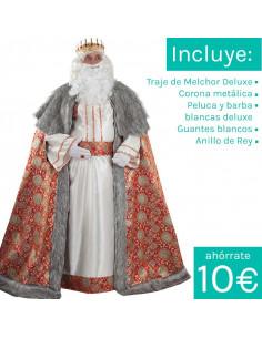 traje de rey mago melchor