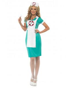 Disfraz enfermera clásica para mujer