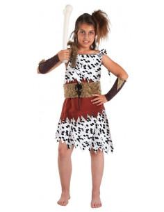 Disfraz de troglodita niña
