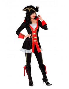Disfraz de pirata época para mujer
