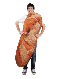 Disfraz original de barra de pan