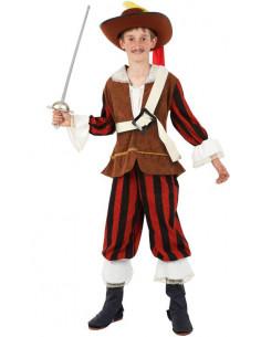 Disfraz Dartañan infantil  Tallas-12 años