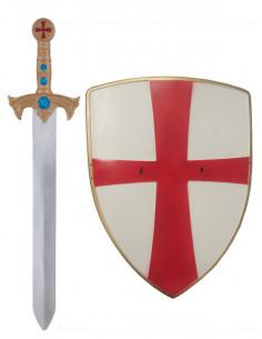 Escudo y espada caballero