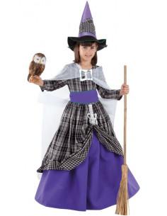 Disfraz bruja Halloween infantil