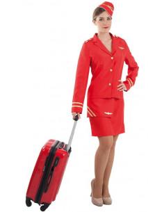 Disfraz azafata de vuelo