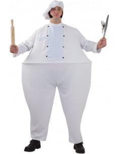 Disfraz cocinero gordo
