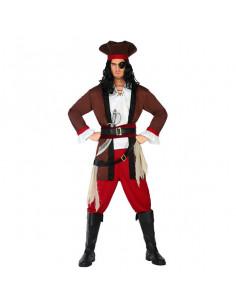 Disfraz pirata bandido para hombre