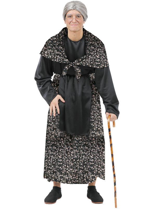 Disfraz de abuela vieja