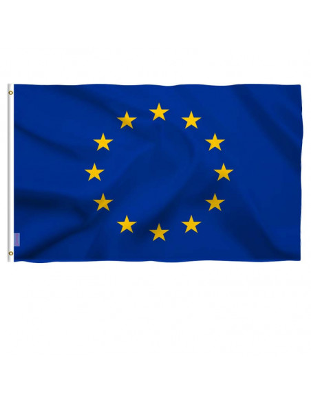Bandera de tela UE para exteriores