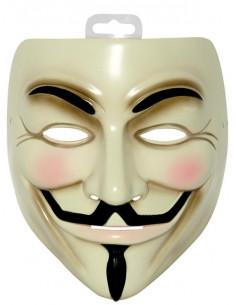 Máscara V de Vendetta lujo