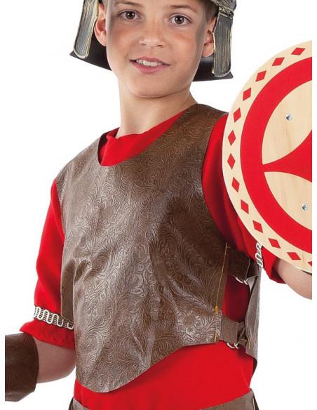 Disfraz romano guerrero infantil detalle