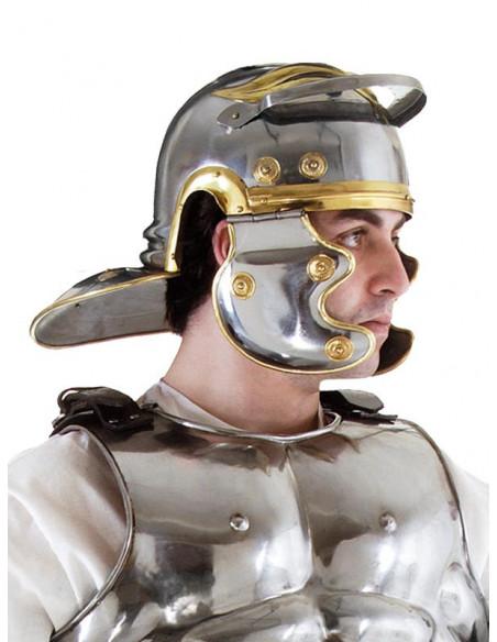 Casco de romano de hierro