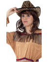 Sombrero cow boy a rayas