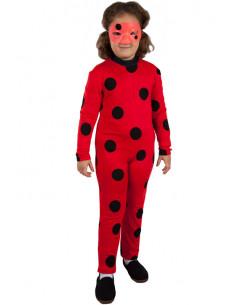 Disfraz Prodigiosa-ladybug para niña
