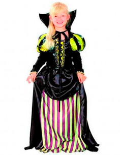Disfraz de condesa para niña