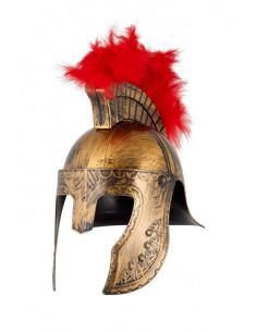 Casco de Soldado Espartano Oro