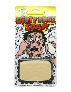 Jabón de broma color negro