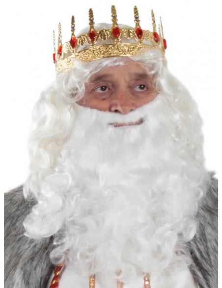 Corona rey metal ejemplo