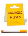 Cigarrillo imitación con humo
