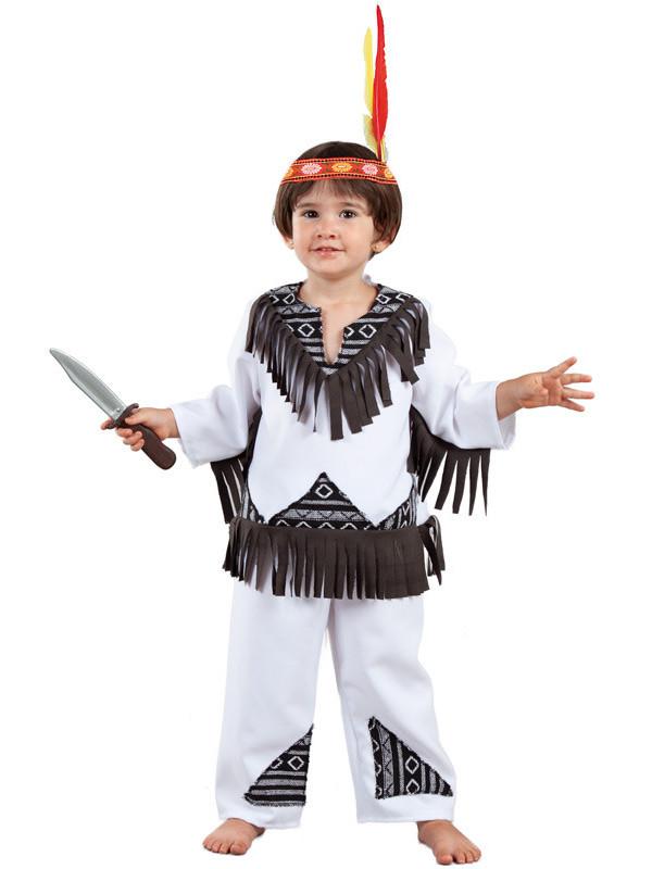 Disfraz indio cherokee para bebé