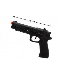 Pistola de plástico de gánster
